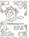 Mythcon 16 Program Cover by Anne Chancellor