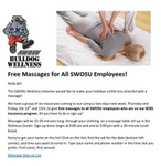 Free Massages for All SWOSU Employees! by Southwestern Oklahoma State University