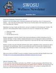 November 2019 by SWOSU Bulldog Wellness Committee