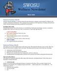 March 2020 by SWOSU Bulldog Wellness Committee