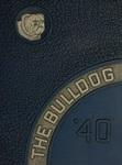 The Bulldog 1940 by Southwestern Oklahoma State University