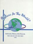 Graduate Record 1996: Where in the World? by Southwestern Oklahoma State University